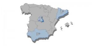 mapa españa posiciones
