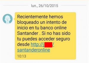 mensaje BS