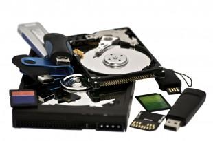 assortred digital storage devices