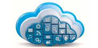 nube con aplicaciones