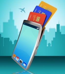 Credit Card Online Indicates World Wide Web And Banking