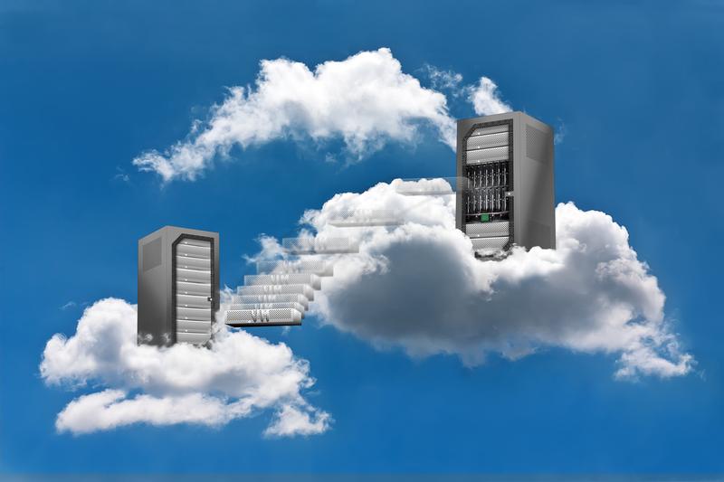 interconexión de las nubes - directortic - madrid - españa